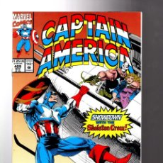 Cómics: CAPTAIN AMERICA 409 - MARVEL 1992 VFN/NM. Lote 209900990