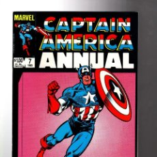 Cómics: CAPTAIN AMERICA ANNUAL 7 - MARVEL 1983 VFN+. Lote 209901351