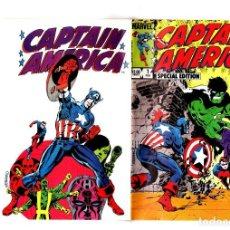 Cómics: CAPTAIN AMERICA SPECIAL EDITION 1 - MARVEL 1984 VFN/NM / JIM STERANKO. Lote 209901642