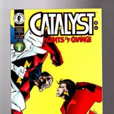 Cómics: CATALYST AGENTS OF CHANGE 4 - DARK HORSE 1994 FN/VFN. Lote 210000906