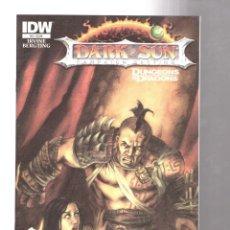 Cómics: DARK SUN 3 - IDW 2011 VFN/NM. Lote 210167137