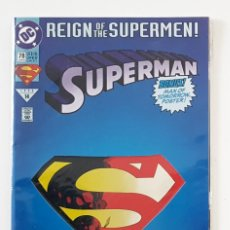 Cómics: SUPERMAN Nº 78 - DC 1993 - JURGENS & BREEDING - REIGN OF THE SUPERMEN - POSTER - VFN. Lote 210321627