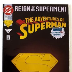 Cómics: ADVENTURES OF SUPERMAN Nº 501 - DC 1993 - FN REIGN OF THE SUPERMEN - VFN. Lote 210337073