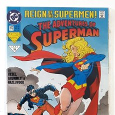 Cómics: SUPERMAN Nº 502 - DC 1993 VFN - JURGENS & BREEDING - REIGN OF THE SUPERMEN - CYBORG SUPERMAN. Lote 210337753