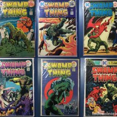 Cómics: LOT OF 6: SWAMP THING #13-18 (1ST SERIES 1972-1976) - MID GRADE (FOTOS DENTRO). Lote 210343423