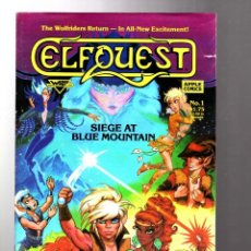 Cómics: ELFQUEST SIEGE AT BLUE MOUNTAIN 1 - WARP GRAPHICS 1987 FN. Lote 210433451