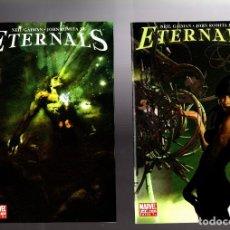 Cómics: ETERNALS 1 2 3 4 5 6 7 COMPLETA - MARVEL 2006 VFN/NM / NEIL GAIMAN & JOHN ROMITA JR. Lote 210434415