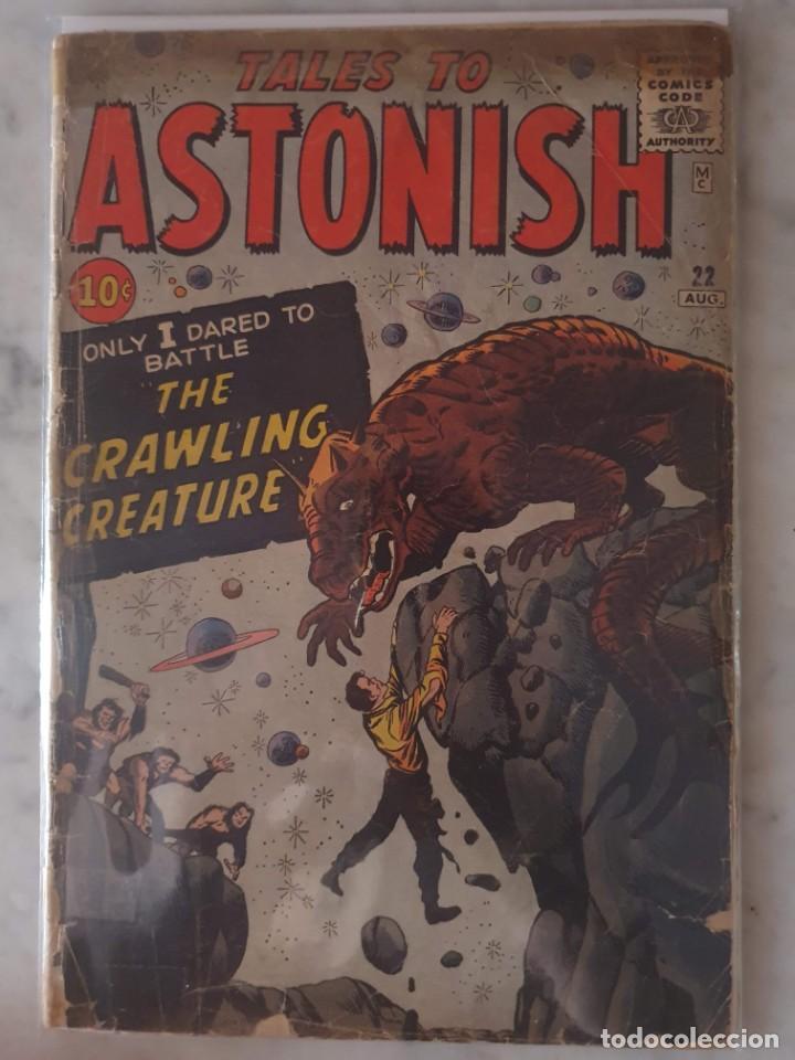 TALES TO ASTONISH 22. JACK KIRBY (Tebeos y Comics - Comics Lengua Extranjera - Comics USA)