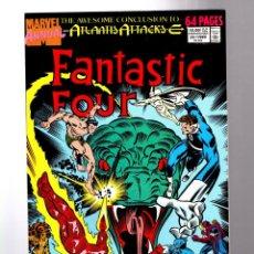 Cómics: FANTASTIC FOUR ANNUAL 22 - MARVEL 1989 VFN/NM / ATLANTIS ATTACKS. Lote 210671591