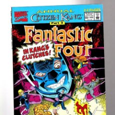 Cómics: FANTASTIC FOUR ANNUAL 25 - MARVEL 1992 VFN / AVENGERS / CITIZEN KANG. Lote 210672070