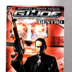 Cómics: GI JOE THE RISE OF COBRA OFFICIAL MOVIE PREQUEL 2 - IDW 2009 VG+. Lote 210732460