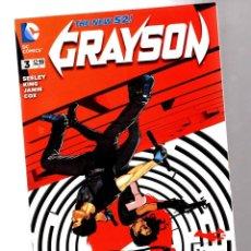 Cómics: GRAYSON 3 - DC 2014 VFN/NM / TOM KING. Lote 210735236