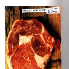 Cómics: GREAT BIG BEEF - ISM 1997 VFN/NM. Lote 210735422
