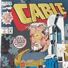 Cómics: CABLE Nº 1 - FUTURE DESTINY - MARVEL COMICS - ISSUE COLLECTORS ITEM - 48 PAGINAS - VFN. Lote 210749105