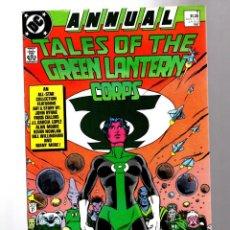 Cómics: TALES OF THE GREEN LANTERN CORPS ANNUAL 3 - DC 1986 VFN+ / ALAN MOORE / BILL WILLINGHAM / JOHN BYRNE. Lote 211484972