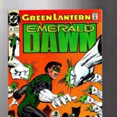 Cómics: GREEN LANTERN : EMERALD DAWN 4 - DC 1990 VFN+ / GIFFEN & BRIGHT. Lote 211485520