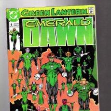 Cómics: GREEN LANTERN : EMERALD DAWN 6 - DC 1990 VFN+ / GIFFEN & BRIGHT. Lote 211485731