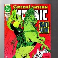 Cómics: GREEN LANTERN MOSAIC 13 - DC 1993 VFN/NM / DEATH OF A NATION / KU KLUX KLAN. Lote 211486710