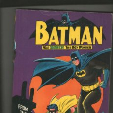 Cómics: BATMAN WITH ROBIN THE BOY WONDER.FROM THE 30'S TO THE 70'S. SPRING BOOKS 1972 EN INGLÉS.DA. Lote 211576691