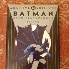 Cómics: BATMAN,ARCHIVE EDTIONS.BOB KANE.DC.VOLUMEN 1 EN INGLES 1990.1ª EDICION,VER DETALLES Y FOTOS.. Lote 211695725