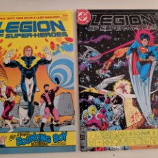 Cómics: LEGION OF SUPERHEROES 11 12 13 21 DC 1986. Lote 211881577