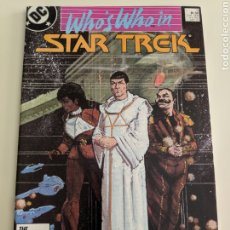 Cómics: WHO'S WHO IN STAR TREK 2DC 1987. Lote 211882463
