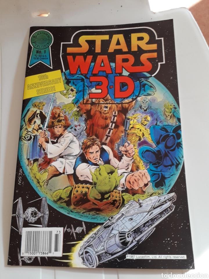 Cómics: Rareza. Star Wars 3-D Original USA 1987 - Foto 1 - 212012982