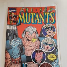 Cómics: THE NEW MUTANS # 87. PRIMERA APARICIÓN DE CABLE. ¡ EXCELENTE ESTADO! ORIGINAL USA. Lote 212100406