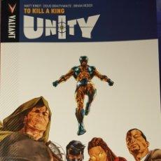"Cómics: UNITY ""TO KILL A KING"". Lote 212304953"