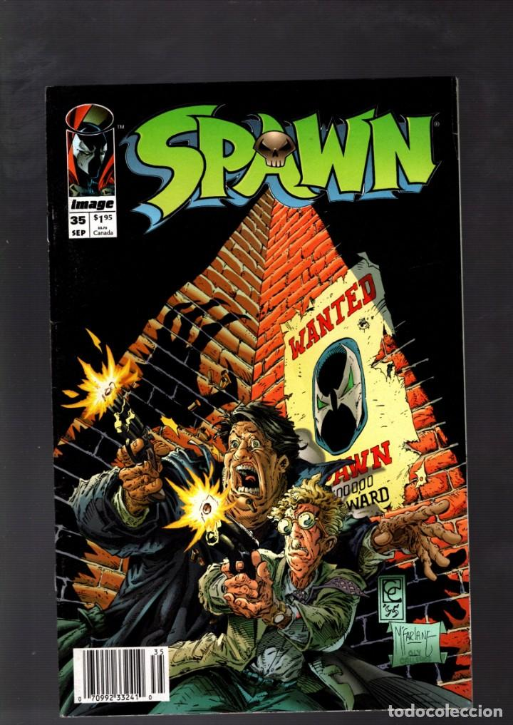 SPAWN 35 - IMAGE 1995 VFN / TODD MCFARLANE (Tebeos y Comics - Comics Lengua Extranjera - Comics USA)
