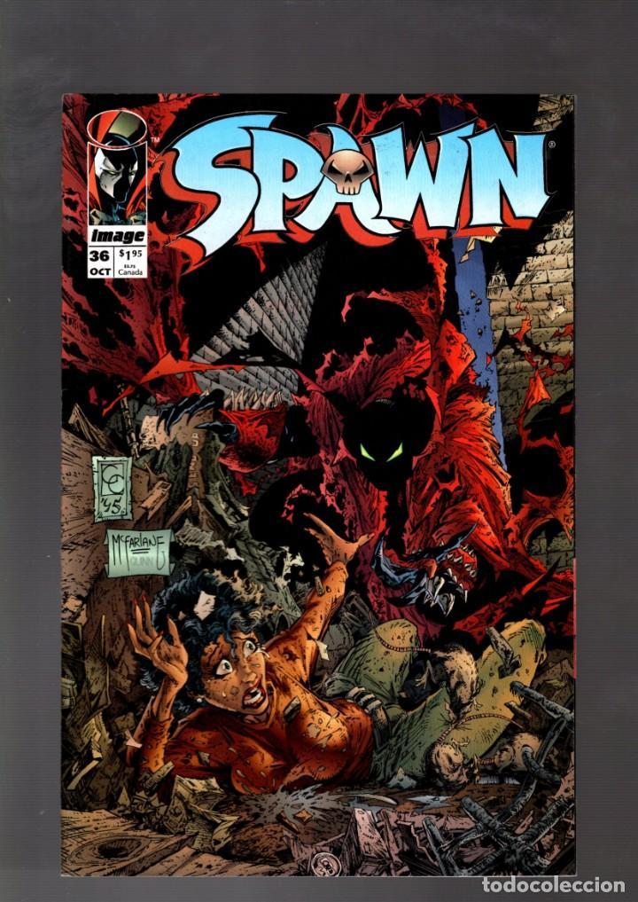 SPAWN 36 - IMAGE 1995 VFN / TODD MCFARLANE (Tebeos y Comics - Comics Lengua Extranjera - Comics USA)