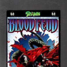 Cómics: SPAWN BLOOD FEUD 4 - IMAGE 1995 VFN / ALAN MOORE. Lote 213561302
