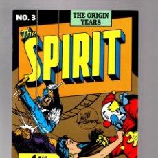 Cómics: SPIRIT THE ORIGIN YEARS 3 - KITCHEN SINK 1992 VFN/NM / WILL EISNER. Lote 213637616
