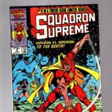 Cómics: SQUADRON SUPREME 8 - MARVEL 1986 FN/VFN. Lote 213638057