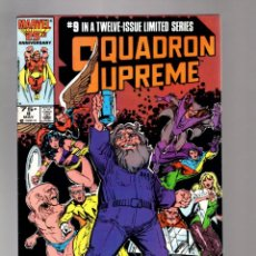 Cómics: SQUADRON SUPREME 9 - MARVEL 1986 VFN-. Lote 213638352