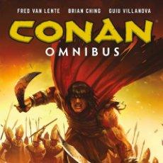 Cómics: CONAN OMNIBUS 7 PERFECTO ESTADO 448 PAGINAS DE FRED VAN LENTE, BRIAN CHING. Lote 213643973
