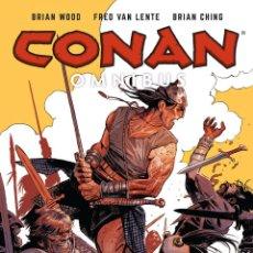 Cómics: CONAN OMNIBUS VOLUME 6 DE BRIAN WOOD, FRED VAN LENTE PERFECTO ESTADO 448 PAGINAS. Lote 213644338