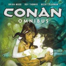 Cómics: CONAN OMNIBUS VOLUME 5 BRIAN WOOD, ROY THOMAS, BECKY CLOONAN, JAMES HARREN, MIKE HAWTHORNE 432 PAGIN. Lote 213645060