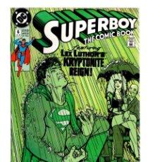 Cómics: SUPERBOY 6 - DC 1990 VFN-. Lote 213691642
