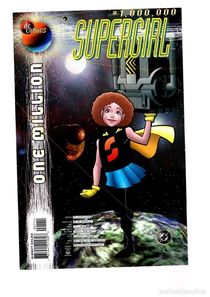 SUPERGIRL 1000000 ONE MILLION - DC 1998 VFN/NM (Tebeos y Comics - Comics Lengua Extranjera - Comics USA)