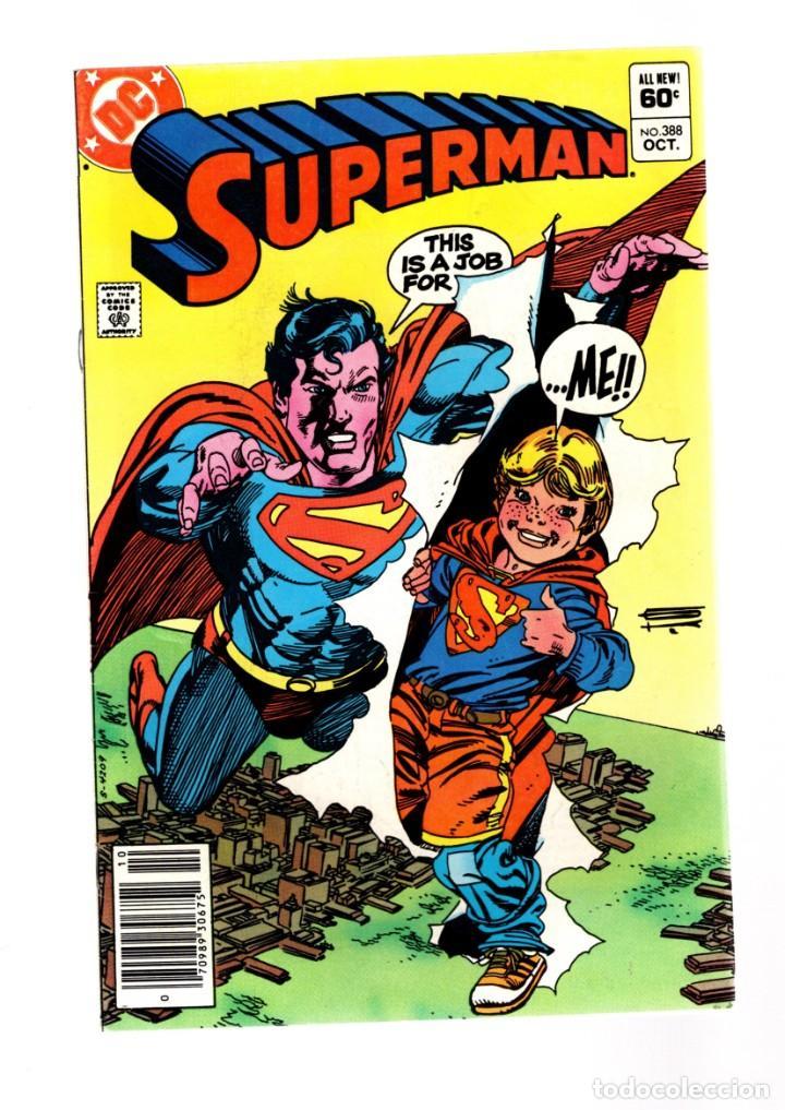 SUPERMAN 388 - DC 1983 FN/VFN (Tebeos y Comics - Comics Lengua Extranjera - Comics USA)