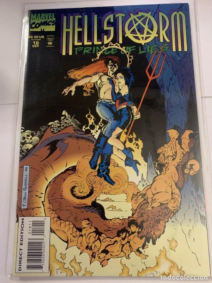 HELLSTORM PRINCE OF LIES 18 COMIC BOOK. SEP 1994, MARVEL COMICS. (Tebeos y Comics - Comics Lengua Extranjera - Comics USA)