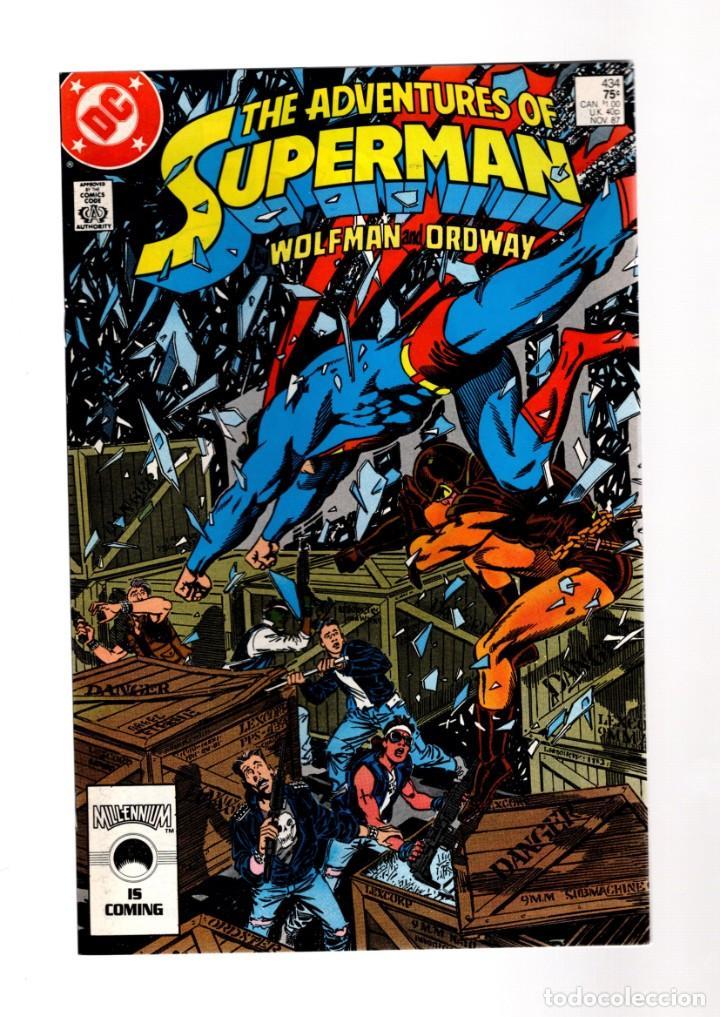 SUPERMAN 434 ADVENTURES OF - DC 1987 VFN (Tebeos y Comics - Comics Lengua Extranjera - Comics USA)