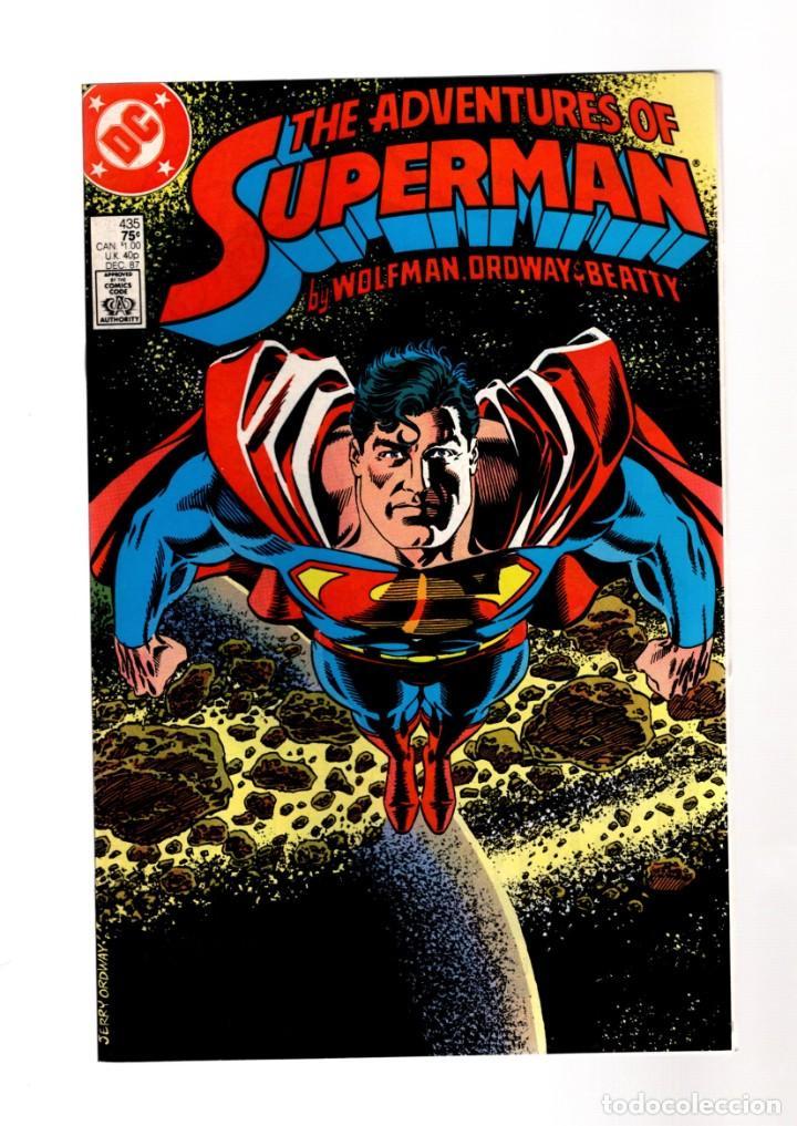 SUPERMAN 435 ADVENTURES OF - DC 1987 VFN (Tebeos y Comics - Comics Lengua Extranjera - Comics USA)