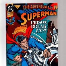 Cómics: SUPERMAN 486 ADVENTURES OF - DC 1992 VFN/NM / 1ST PURGE. Lote 213710500