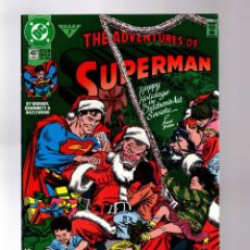 Cómics: SUPERMAN 487 ADVENTURES OF - DC 1992 VFN/NM / CHRISTMAS ISSUE. Lote 213710617