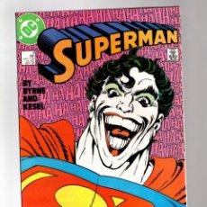 Fumetti: SUPERMAN 9 - DC 1987 VFN+ / JOHN BYRNE / SUPER JOKER. Lote 213713077
