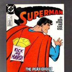 Cómics: SUPERMAN 16 - DC 1988 VFN / JOHN BYRNE. Lote 213713930