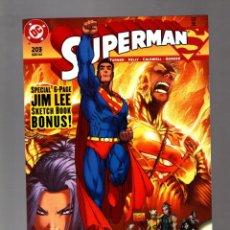 Cómics: SUPERMAN 203 - DC 2004 VFN/NM / MICHAEL TURNER & JIM LEE. Lote 213932856