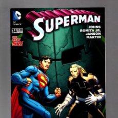 Cómics: SUPERMAN 34 - DC 2014 VFN/NM / GEOFF JOHNS & JOHN ROMITA JR. Lote 213933206